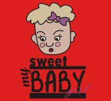Baby Girl One Piece - Long Sleeve