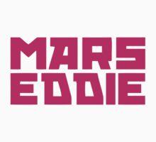 Mars Eddie Pink Text One Piece - Short Sleeve