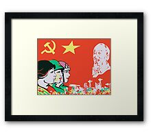 LIBERATION ARMY CHINA  Framed Print