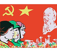 LIBERATION ARMY CHINA  Photographic Print