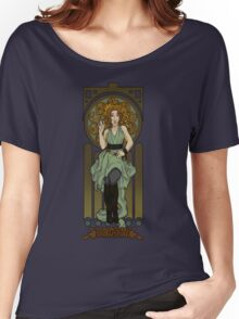 Dr. Who Art Nouveau-River Song Women's Relaxed Fit T-Shirt