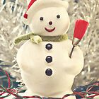 Vintage Snowman by Hilary Walker