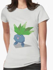 Cutout Oddish Womens Fitted T-Shirt