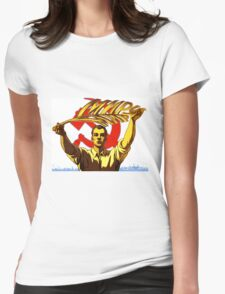 SOVIET LAND Womens Fitted T-Shirt