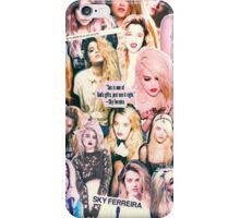 Sky Ferreira iPhone Case/Skin