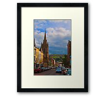 Northern Ireland. Derry. Street. Framed Print