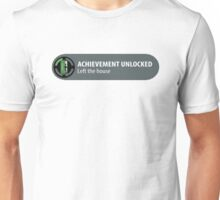 Achievement Unlocked Left Home Unisex T-Shirt