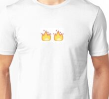 Emoji Fire Unisex T-Shirt