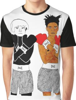 Andy Warhol Jean-Michel Basquiat Graphic T-Shirt