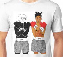 Andy Warhol Jean-Michel Basquiat Unisex T-Shirt