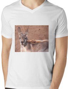 OOOF! Mens V-Neck T-Shirt