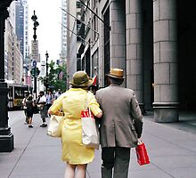 New York Couple by Ivana Mladenovikj