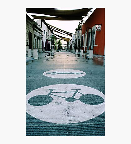 Mobility urban alley Photographic Print