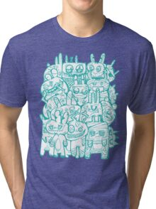 A Gathering of Monsters Tri-blend T-Shirt