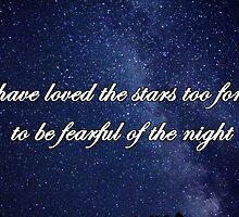 I have loved the stars by beccagm