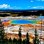 Grand Prismatic Spring by SamPonke
