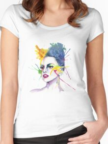 Art is in me Women's Fitted Scoop T-Shirt