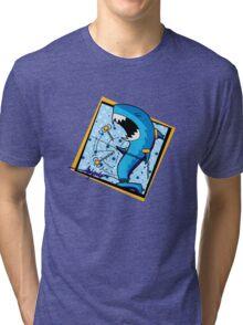 dah dum - shark - signature Tri-blend T-Shirt