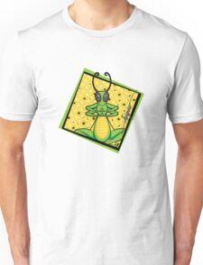 patient grasshopper - signature Unisex T-Shirt