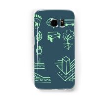 Urban mobility and transport drawings Samsung Galaxy Case/Skin