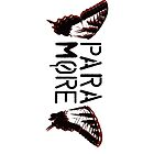 Paramore Butterfly T-shirt/Stickers/Cases by BandTees