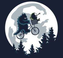 Monsters friends Bicycle by DavidBear