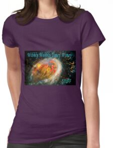 wibbily wobbly timey wimey...stuff  Womens Fitted T-Shirt