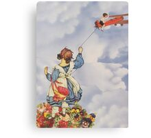 The Blitheness of Childhood Canvas Print