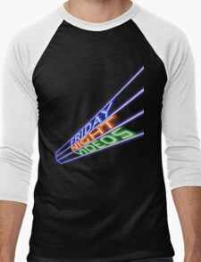 Friday Night Videos Men's Baseball ¾ T-Shirt