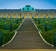 Sans-Souci Palace by antonium