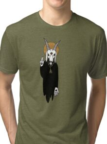 The Goat Priest Tri-blend T-Shirt