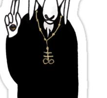 The Goat Priest Sticker
