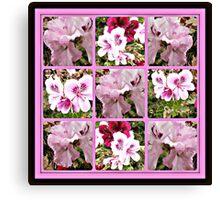 gardener diary Canvas Print