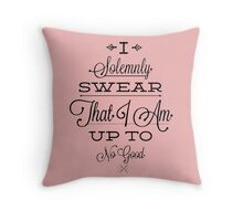 Harry Potter Quotes Throw Pillow
