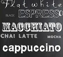 Coffee Blackboard Sign with a twist of TEA! by Cre8tivePapyrus