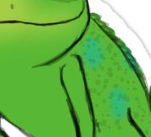 Pascal on a pastel background Sticker