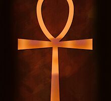 Ankh of the Glowing Sands by Skye Ryan-Evans