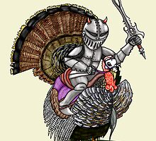 Knight turkey by squigglemonkey