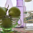 Pears, Coolah bottle by Julie Sherlock