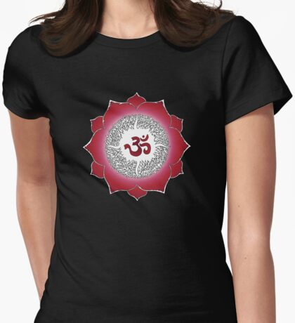 Aum 12 Womens Fitted T-Shirt