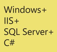 WISC - Windows IIS SQL Server C# One Piece - Short Sleeve