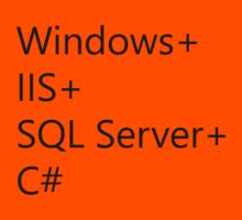 WISC - Windows IIS SQL Server C# Kids Tee