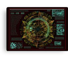 ©DA Instrument AS Espiral Fractal IA Canvas Print