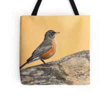 American Robin: Regal Bearing Tote Bag