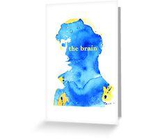 sherlock holmes - the brain Greeting Card