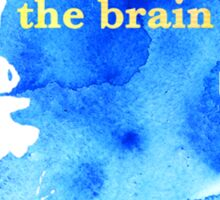 sherlock holmes - the brain Sticker