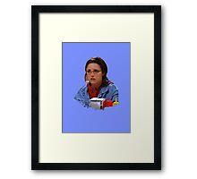 Elaine - I've Become George Framed Print