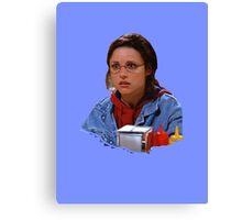 Elaine - I've Become George Canvas Print