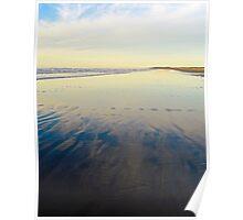 Washington Beach Reflections Poster