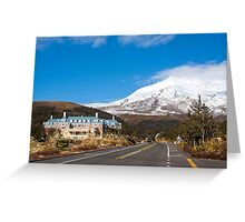 Whakapapa Village Greeting Card